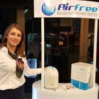 Представяне на въздухопречиствател Airfree на СТРОЙКО