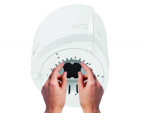 Пречиствател на въздух AirFree DUO - 24m² капсула с активен въглен | allergy.bg