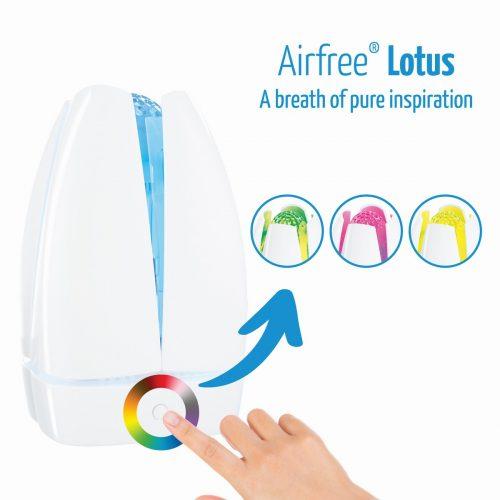 Въздухопречиствател AirFree Lotus - 60m² | allergy.bg