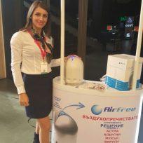 Представяне на AirFree на изложение СТРОЙКО, есен 2016