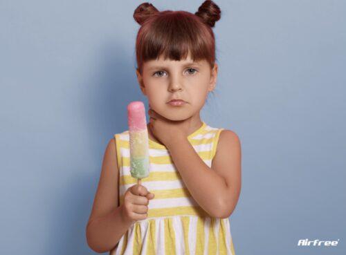 Възпалено гърло при деца: Какво го причинява | allergy.bg
