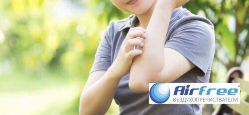 Зачервяване, подуване и сърбеж | allergy.bg